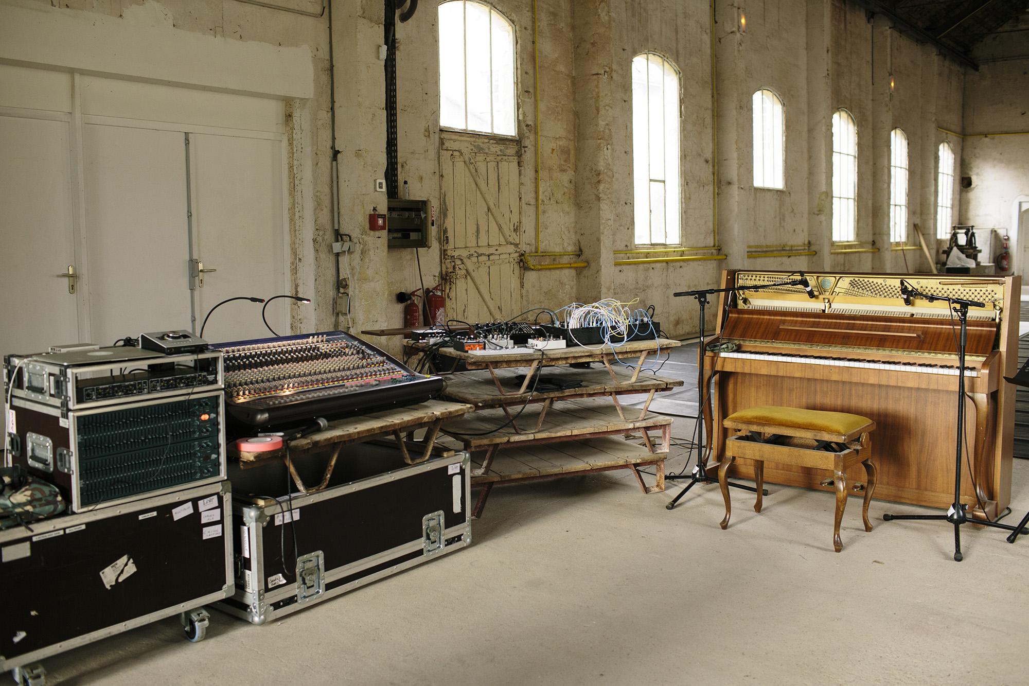 Corey's Sound Setup _ photo by Corey Fuller