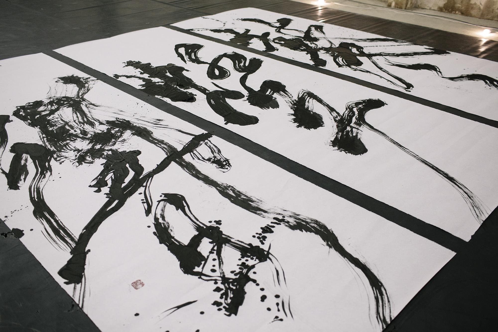 """""""鼕燈響"""" - after the performance _ photo by Corey Fuller"""